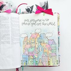 Bible Journaling by @kelsienoellee