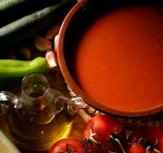 Definición de gazpacho