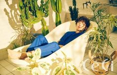 EXO's Chanyeol Gets Featured on the Cover of 'CeCi' Magazine February   Koogle TV