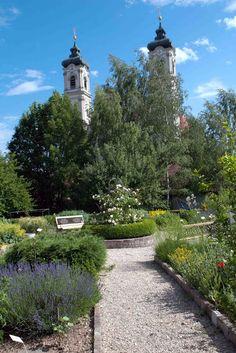 Gartenziele - Ausflüge zu schönen Gärten: Der Kräutergarten in Ottobeuren