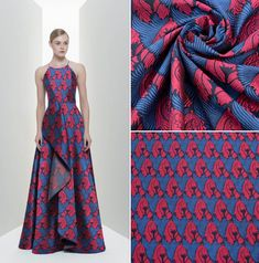 Brocade Fabric, Gorgeous Dress, Fabrics, Create, Dresses, Fashion, Tejidos, Vestidos, Moda
