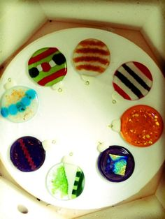 2012 Fused Glass Ornament https://www.facebook.com/pages/ZN-Stained-Glass/41146722975
