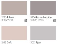jotun.dk Jotun Paint, Where The Heart Is, Pastel Colors, Interior Styling, Color Schemes, Swatch, New Homes, Bedroom, Diy