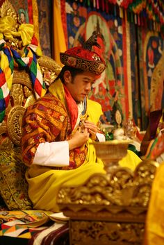 His Majesty Jigme Khesar Namgyel Wangchuck . King of Bhutan