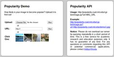 Algorithm predicts image popularity on social networks.
