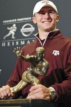 Johnny Football Heizman Manziel