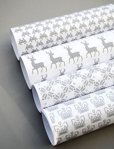 Free Printable Wrapping Paper for Classic Video Game Lovers  - This is a classy looking geeky design!