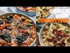 2 delicious vegan recipes I like to call ultimate vegan comfort food! They're literally comfort goals. Over 100 of my Vegan Recipes! Vegan Fried Chicken, Vegan Fries, Impossible Burger, Vegan Candies, Broccoli Pasta, Vegan Vegetarian, Vegan Food, Vegan News, Vegan Comfort Food