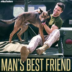 Robbie Amell and max in the movie Max Max Movie, Movie Tv, Las Brujas De Roald Dahl, Mans Best Friend, Best Friends, Military Working Dogs, Military Dogs, Police Dogs, Movie Sites