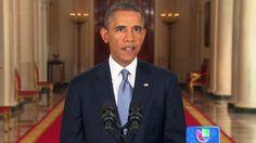 El día de ayer, el Presidente Barack Obama se dirigió a la nación norteamericana pidiendo apoyo y compresión acerca de la intervención en Siria.