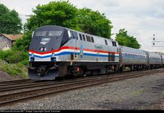 Amtrak 710 with Empire Service Train 281 from New York City to Niagara Falls on July 9, 2016.