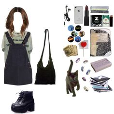 """Walking around, looking for adventures"" by daisyday on Polyvore"