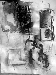 Black And White Modern Art