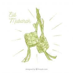 Traditional ketupat background Free Vector Photography Editing Apps, Photography Backdrop Stand, Happy Eid Ul Fitr, Eid Mubarak Wallpaper, Guest Book Table, Backgrounds Free, Flower Wallpaper, Adobe Illustrator, Vector Free
