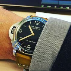 74 Serie on Panerai 217 by @bolscomedy price for: $134.99 (1350 juta) without buckle by gunnystore