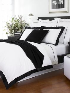 Black Fulton Collection - Solid Bedding   Home - RalphLauren.com