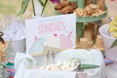 Party Invitation #icecream #social #poolparty # sundaebar #birthday #party