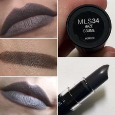NYX true grey Matte Lipstick in Haze.