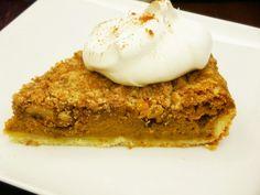 Bourbon Pumpkin Tart with Walnut Streusel | Culinary Bric-a-Brac
