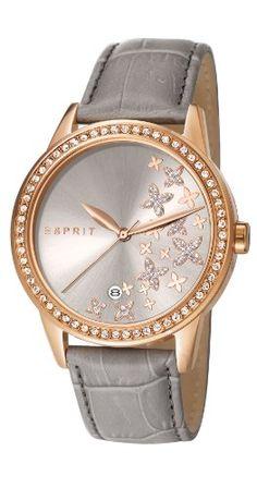 Esprit  ES107302003 - Reloj de cuarzo para mujer, con correa de cuero, color gris Esprit http://www.amazon.es/dp/B00JKN7FJM/ref=cm_sw_r_pi_dp_CsU9vb02ZCZ2E