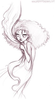 Sarah's Sketches: Mother Gothel