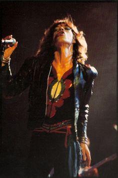 Mick.   #TheRollingStones #rockstargallery