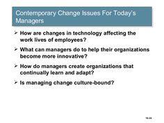 Change Management, Stress Management, Acceptance, Innovation, Organization, Technology, Learning, Life, Getting Organized