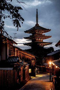 Yasaka Pagoda, Kyoto by Caroline