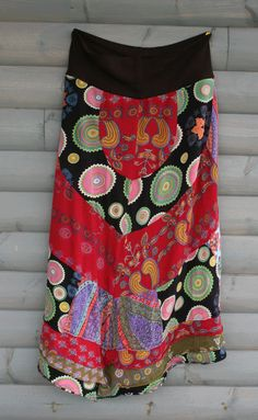 Desigual. This is a lovely skirt. Love the lines.