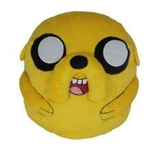 Adventure Time Jake Cuddle Plüsch Kissen by Toy Zany @ niftywarehouse.com #NiftyWarehouse #AdventureTime #TVShow #Cartoon #Show #CartoonNetwork
