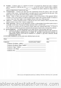 Sample Printable Punch Out List Form  Sample Real Estate Forms