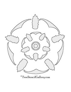 Game of Thrones - House Tyrell Sigil Stencil