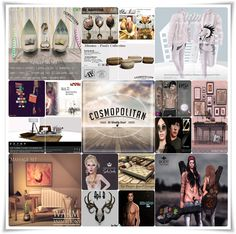 COSMOPOLITAN BRAND NEW ROUND IS HERE \o/ Find all info @ http://cosmopolitansl.blogspot.com/2015/01/cosmopolitan-round-7319th-january-1st.html Or just come @ http://maps.secondlife.com/secondlife/No%20Comment/131/61/22 Enjoy your shopping!