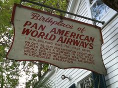 Birthplace of Pan American World Airways. Downtown Old Town Key West FL – 301 Whitehead St. Now Kelly's Caribbean Grill & Brewery.