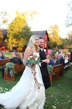 The Nashville Country Chic wedding of musicians Holly Williams