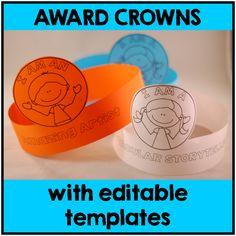 End of Year Award Crowns Last Day Of School, The New School, New School Year, School Stuff, Positive Behavior Management, Fun Awards, Award Template, Classroom Organization, Classroom Ideas
