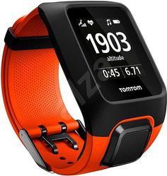 Športtester TomTom Adventurer Cardio + Music, oranžový