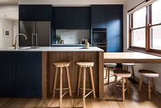 Renovation completed in Malvern East Melbourne. Design by Eat Bathe Live. Kitchen Colors, Kitchen Design, Kitchen Interior, Interior Designers Melbourne, Residential Interior Design, Home Office Space, Shaker Style, New Kitchen, Kitchen Ideas