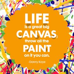 We hope you're painting a lot today. :) Best Quotes, Fun Quotes, Awesome Quotes, Comfort Keepers, Cheer You Up, Some Words, Words Of Encouragement, How Are You Feeling, Inspirational Quotes