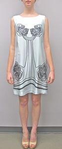 Sarah Stevenson Sleeveless Shift Dress