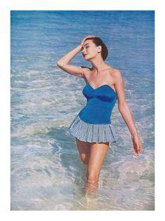 Fantasie swimsuit. From harper's Bazaar.