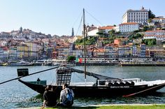 """a typical Porto view but I like the """"people layer"""" in the foreground"""