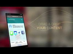 Glass App Mobile after effects template
