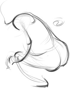 #Figuredrawing with FORCE/ 2 minute drawing showing path of rhythm in the figure.