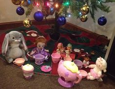 Elf on the shelf tea party