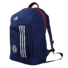 La mochila Chelsea de Adidas está inspirada en la emblemática equipación principal del equipo, tiene un espacioso compartimento principal, tirantes acolchados para los hombros y el escudo del Chelsea impreso en los bolsillos de la parte inferior delantera.