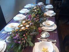 Mesa de navidad del 2014. Christmas table