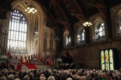 Queen Elizabeth II Photo - Queen Elizabeth II Receives The Addresses From Both Houses Of Parliament