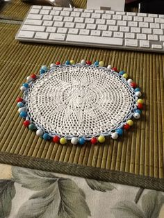 Beaded jug cover
