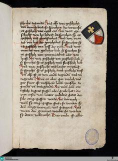 Seite 1r Sammelhandschrift - Donaueschingen 112 › Ps.-Albertus Magnus: Paradisus animae, dt.